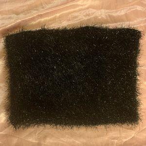 black pom pom top